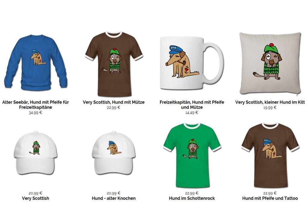 T-Shirtdesign Shop xiaomao unter spreadshirt.