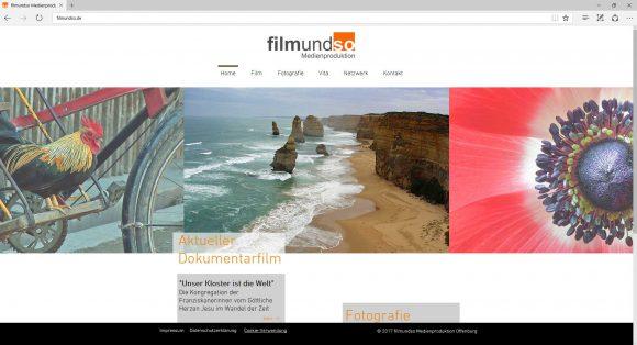 webseite filmundso medienproduktion