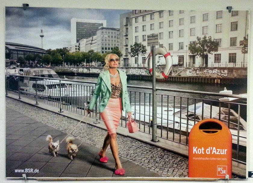 Foto von einechtervogel Bild Werbung BSR Berlin