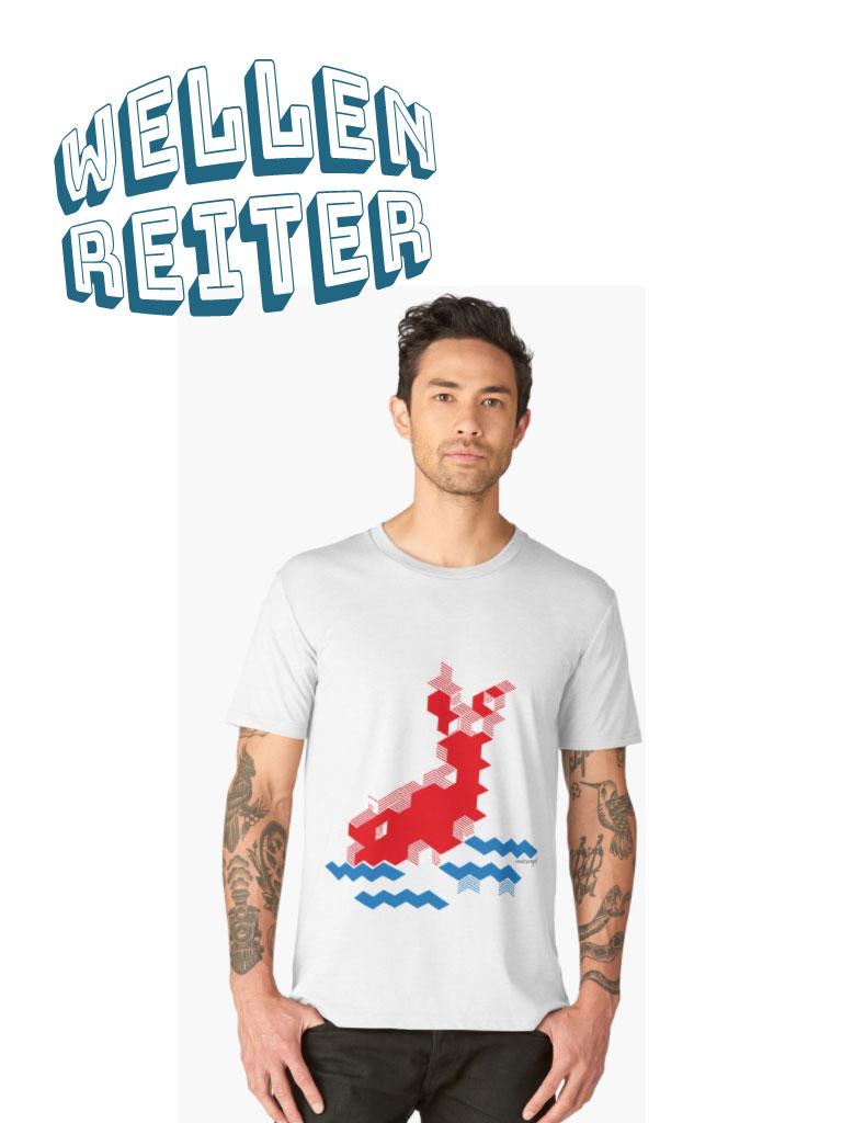 Wellenreiter, Koi im Wasser