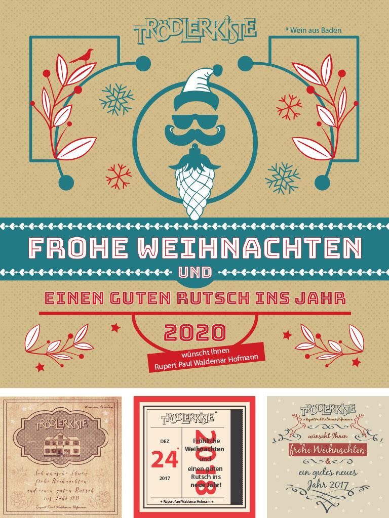 Weinetikett für die Trödlerkiste in Offenburg