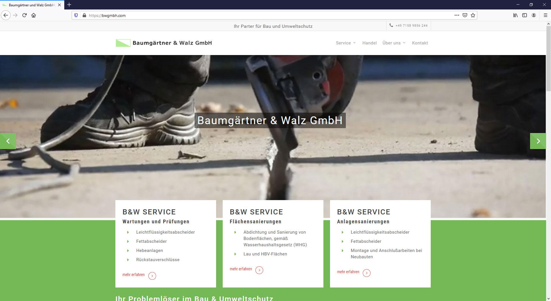 Baumgärtner und Walz GmbH